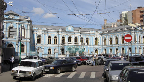 The Mansion is located on 7 Myasnitskaya Street